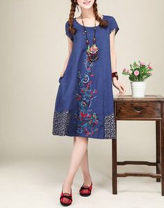 20 Modelos de vestidos anchos tipo hindú a la moda