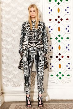 Roberto Cavalli | Resort 2014 Collection | Style.com