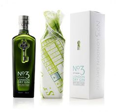 No3 Gin Package Design