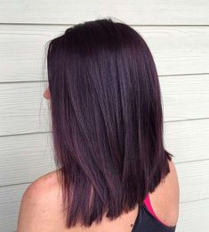 Image result for deep violet chocolate brown hair color