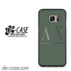 Armani Exchange DEAL-958 Samsung Phonecase Cover For Samsung Galaxy S7 / S7 Edge