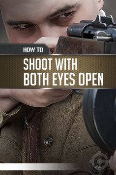 Gun shooting techniques to hit your target with both eyes open. Practice at the shooting range with your dominant eye open. Better sight ensures gun safety. | https://guncarrier.com/gun-shooting-technique-with-both-eyes-open/
