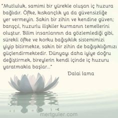 Mutluluk... Dalai Lama
