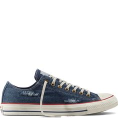 4984275e581 Chuck Taylor All Star Destroyed Denim Blue Ash Grey White blue ash grey