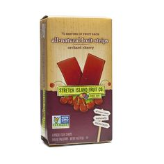 Shop Stretch Island All-Natural Orchard Cherry Fruit Strips at wholesale price only at ThriveMarket.com