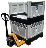 High Quality Plastic Collapsible Fruit Pallet Container
