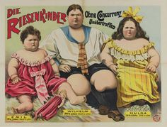 Professor Ouchs Sideshow Collections.  Vintage Circus Posters.