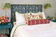 A few well-chosen prints and accessories took this space from bare to beautiful.