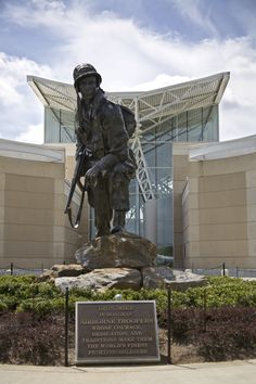 Iron Mike at the Airborne & Special Operations Museum