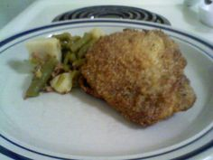 Unfried Fried Chicken-based loosely on a Bobby Dean recipe
