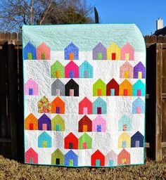 ellyn's place: Texas Suburbs quilt