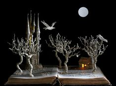 Fairy Tale Book Sculptures - Su Blackwell's Art from Books Animates the Pages of Storybooks (GALLERY)