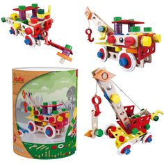 Baufix Supermix 3in1 (13111000) Manufacturer: Baufix Barcode: 9003150110002 Enarxis Code: 013567 #toys #construction #model