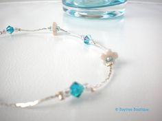 Delicate flower bridesmaids bracelet  elegant by BaytreeBoutique, £14.00