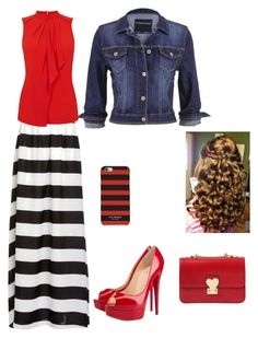 """""""Sunday Night"""" by singin4jesus ❤ liked on Polyvore featuring maurices, Blaque Label, Oasis, Christian Louboutin, Isaac Mizrahi and Valentino"""