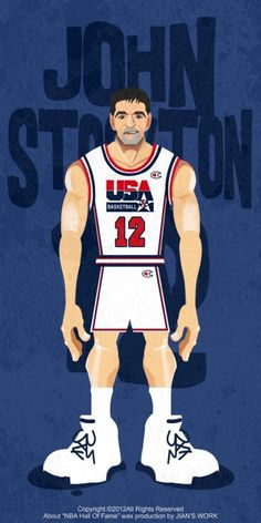aaca654bb49 1992 Dream Team Illustration Olympic Basketball