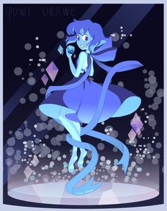 Yuwiurawe LEADER LAPIS LAZULI Would Like To Battle Steven Universe Pokemon Fanart Everyone