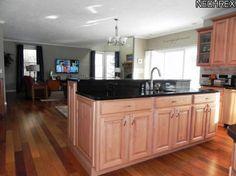 living/kitchen floor