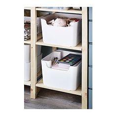"PLUGGIS Recycling bin - 473 oz - IKEAWidth: 12 ½ "" Depth: 13 ¾ "" Height: 8 ¾ "" Volume: 473 oz"
