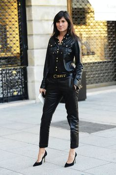 I live for leather!!! Swoon