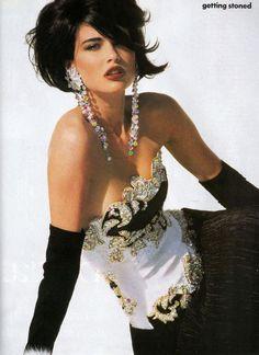 Daniela by Patrick Demarchelier, 1990