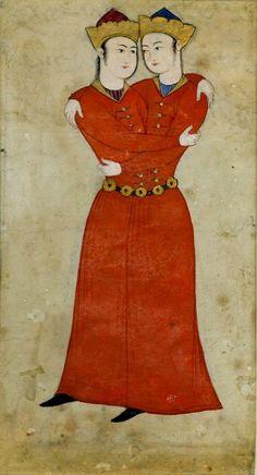 Islamic Persia: Qajar or Safavid Homosexual Painting