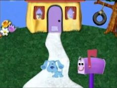 Blues Clues Theme Song - YouTube Cartoon Network, Maisy Mouse, Clarissa Explains It All, Nickelodeon Cartoons, Blues Clues, Nick Jr, Icarly, Afraid Of The Dark, My Childhood Memories