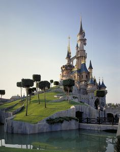 I really want to go to Disneyland Paris! That castle is legit.