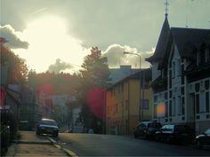 Ráno - Mánesova ulice