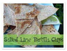 "This low carb Lime ""Tortilla"" chip recipe is such a great way to feed that crunchy-chip craving.  I used to LOVE the salted lime flavored tortilla chips from the store...you know the ones that are full of all sorts of non-healthy junk and carbs.  Yeah.  those.    But I've got a new outlook on life, a new Trim Healthy body, and this is a healthy and DELICIOUS way to get that yummy tart, twangy, crunchy, salty flavor without all the carbs and junk."