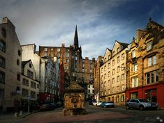 West Bow, Grassmarket, Edimburgh, Scotland