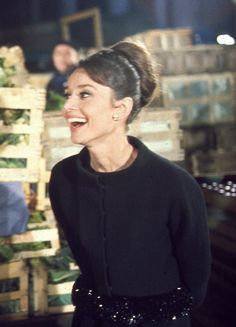 Audrey Hepburn in 'Charade', 1963. My favorite Audrey movie!