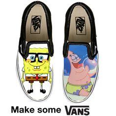 """""""SpongeBob Vans"""" by nat-attack on Polyvore"""