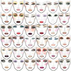 Todo sobre los facecharts: qué son, para qué sirven, ventajas y desventajas, ejemplos de marcas reconocidas, consejos sobre cómo hacer los tuyos... y propuesta colaborativa para hacer este post aún mejor para todos :)