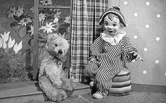 The original Teddy puppet from the show Andy Pandy: Andy Pandy turns 60 years old