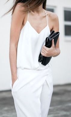#street #style all-white outfit @wachabuy