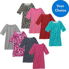 Faded Glory Girls It Dress, Choose Your Style!