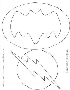 Super Hero Party (free templates included)
