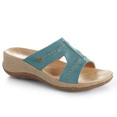 452d5718434b Acorn Vista Wedge Slide Sandals For Women Totes Umbrella