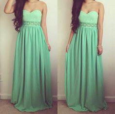 Dress #green