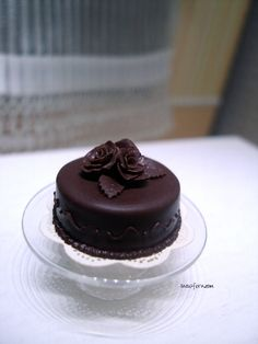 1-12 choc rose cake by ~Snowfern on deviantART
