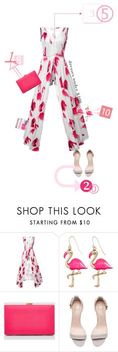"""""""Cheap but not cheap"""" by claire86-c on Polyvore featuring moda, WithChic, New Look, Christian Dior, Summer, contestentry, under100, polyvorecontest e summer2017"""