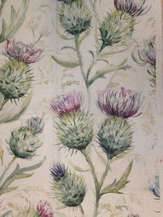 THISTLE GLEN Furnishing Fabric - 1930mm - 53% Linen 47% Cotton