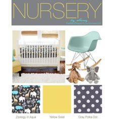 Jungle Nursery, created by thelifeoftheparty on Polyvore
