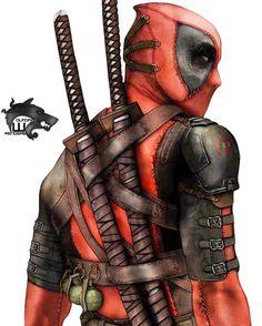 Thanks for 132K!! #Deadpool #Marvel #MarvelComics #Comics #ConceptArt #Art #Artist #Superhero