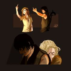 """amytheaa: """" TWD Beth Greene and Daryl Dixon Two complete opposites survive together, figure each other out, and help each other become stronger physically and emotionally…I love these two so much..."""
