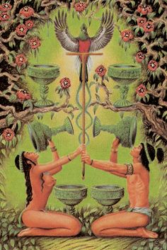 Six of Cups - Tarot of the Ages