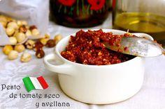 LAS SALSAS DE LA VIDA: Pesto de Tomate Seco y Avellana.