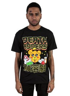 Kawaii Adder T-Shirt (Black) | Mishka NYC - $23.38