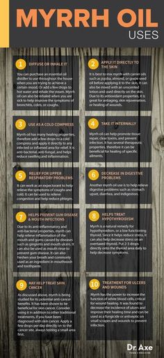 10 Proven Myrrh Essential Oil Benefits & Uses